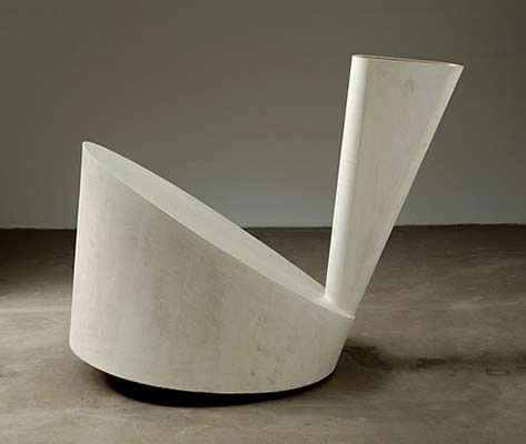 Martin-Puryear simple abstract sculpture