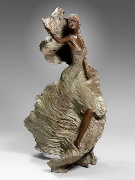 Violetta---Nathalie-SEGUIN-female sculpture