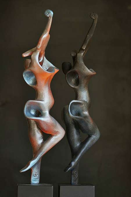 Rogier-Ruys two female abstract damcers