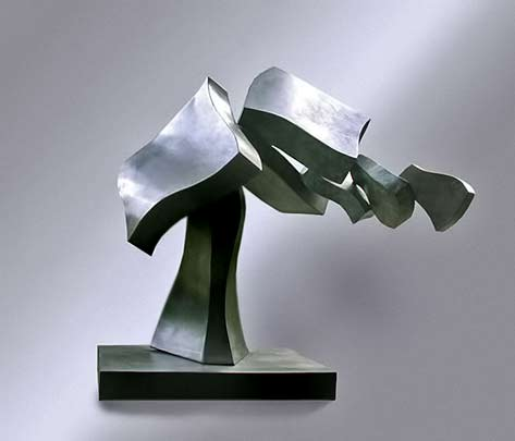 Eds-Dance_Hans-van-de-Bovenkamp - abstract metal sculpture