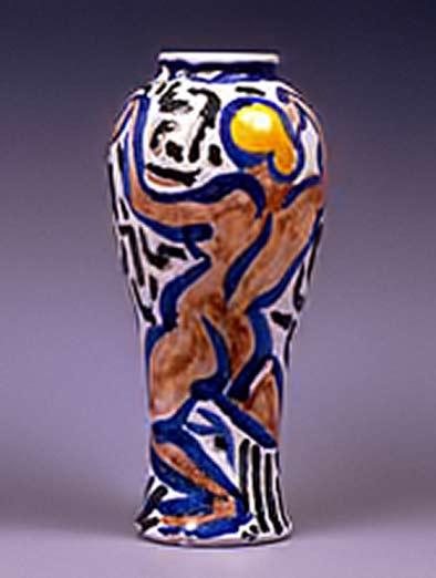 André-Derain-Danseuse baluster vase