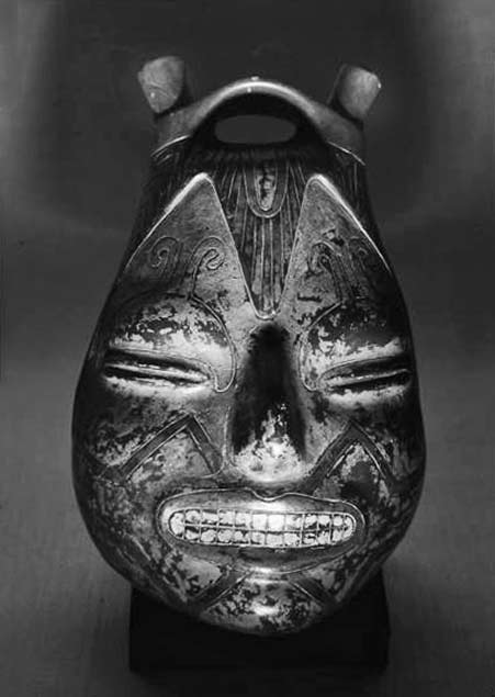 Andreas-Feininger-1954-Peruvian-Art-At-Museum-Of-Modern-Art Metal face madk