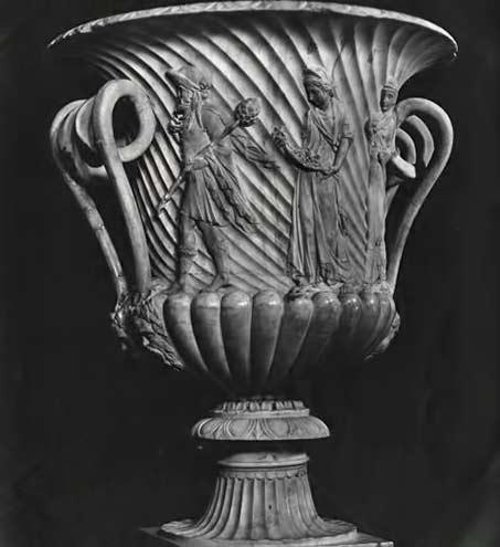Dionysus-Satyr-Naples ceramic vessel