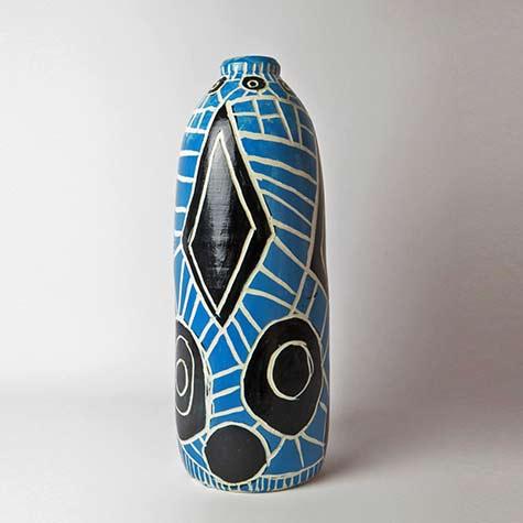 Ernabella-Ceramics,-Pepai-Carroll---Walungurru-II,-2015