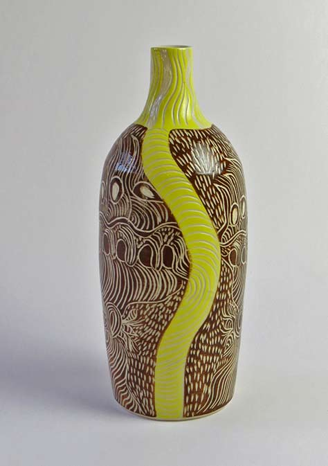 Rhoda-Tjitayi---Anumara-Tjukurpa---Caterpillar-Dreaming,-2015,