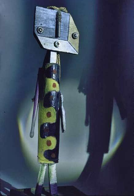 Sculpture Figure, 1935. Picasso Gjon Mili MOMA NY