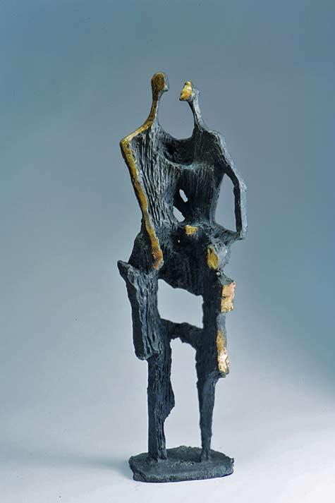 Intimate Encounter- WonLee 2006 32 inches height ISABELLA GARRUCHO FINE ART