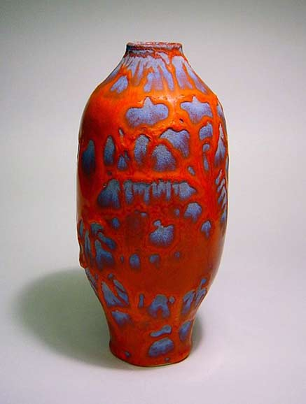 Morten-Lobner-Espersen ovoid red vase