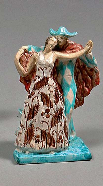 Pierrot-and-Columbine-dancing-figurine