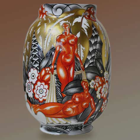 René-Crevel Jazz Age roaring twenties vase