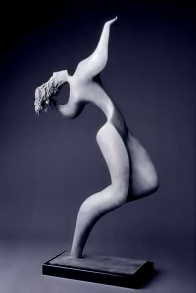 sculpture of a female dancing by Dorothy Brook