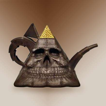 Richard-Notkin pyramid teapot