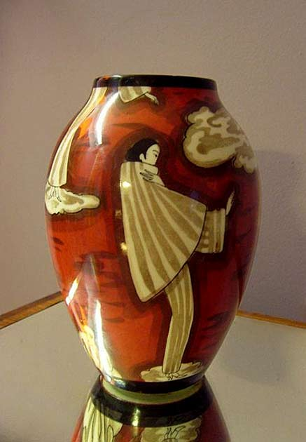 vase-art-deco-Bernardaud & Cie -limoges-