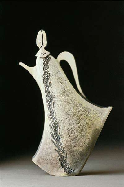 Marlene Bowman elegant ceramic teapot