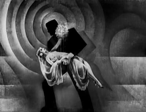Frankenstein-holding maiden