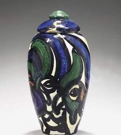 derain-andre-lidded vessel ceramique