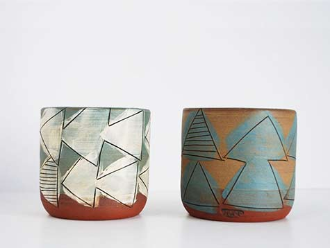 Jess Carter ceramic cups