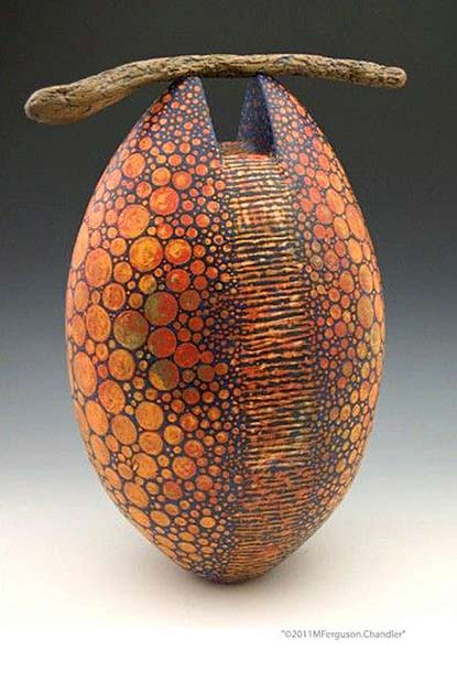 melanie-ferguson ceramic sculpture vessel