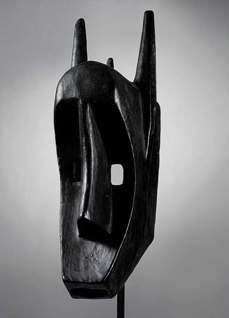 Black Bamana mask, Mali