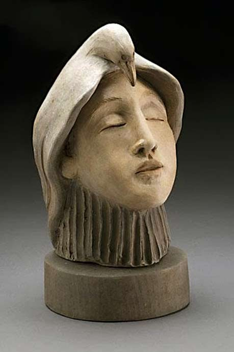 Becky-Gray-_guarded-female head sculpture