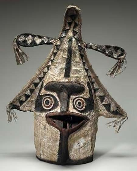 Eharo masks, Elema people, Orokolo Bay, Gulf province New Guinea