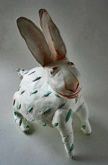 Eli Kaluga Innocent - Smiling Hare