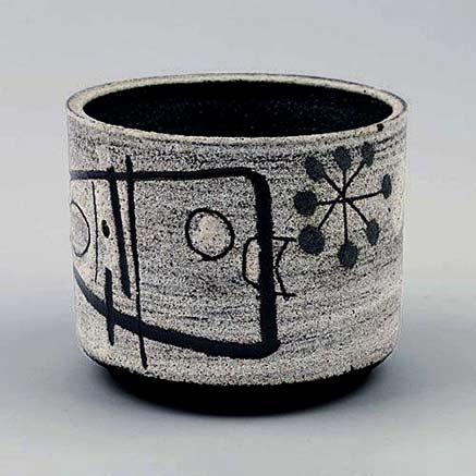 Jaap-Dommisse;-Glazed-Ceramic-Vesse