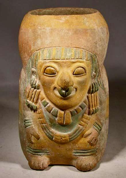 Jamacoaque ceramic Shaman Vessel-—-Ecuador 300BC 400AD