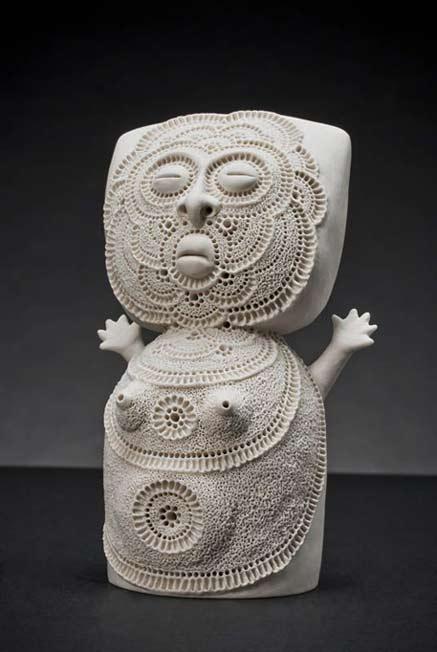 Lorraine-Guddemi ceramic sculpture figure