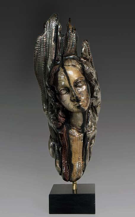 LydiaMini Raku Ceramic Mask