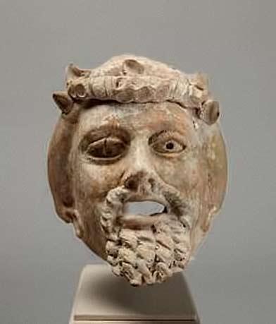 Bearde man mask