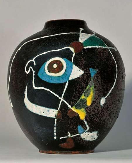 Joan-Miro vase