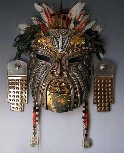 Neo-Olmec-mask - Daniel Hawkins