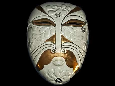 lisa Larson ceramic mask