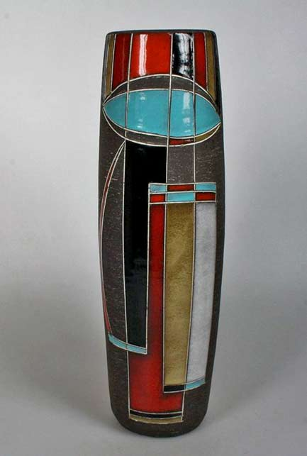 Abstract Motifs In Ceramic Design