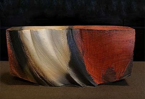 Robert-Yellin-Yakimono-Gallery Kegon Waterfall Series-'Morning Mist' by Hayashi Kaku