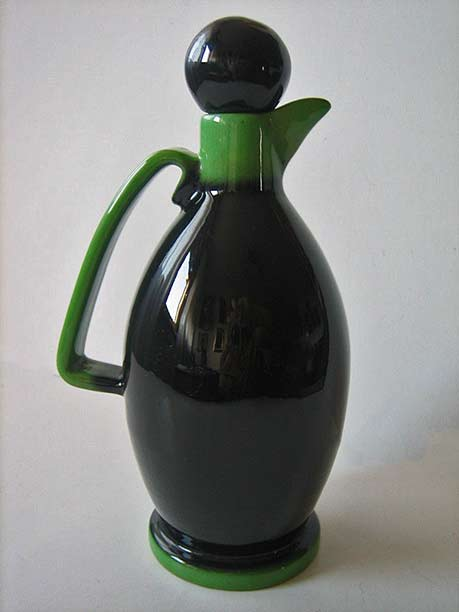 Rometti-Pucci-Umbertide-ceramic-carafe bottle-with-stopper