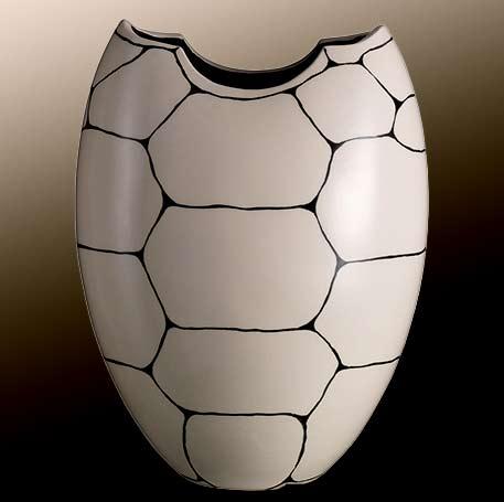 Rometti_2017_vaso_tartaruga_bianco( White Turtle Vase)