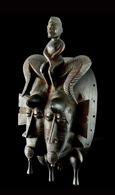 Senufo Kpeliye'e Double Mask