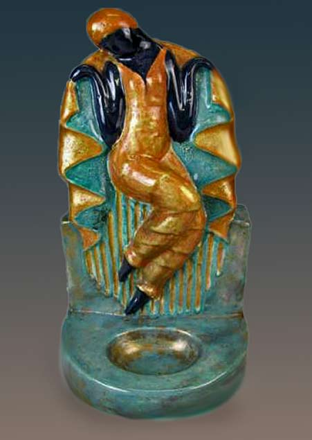 Edouard Cazaux daceing female figurine