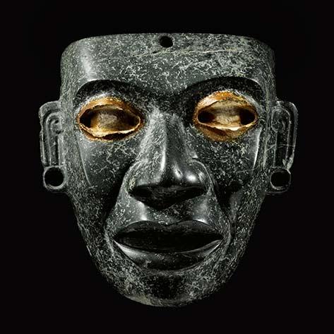 Teotihuacan greenstone mask