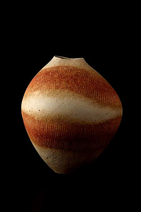Ceramic vase Mihara Ken