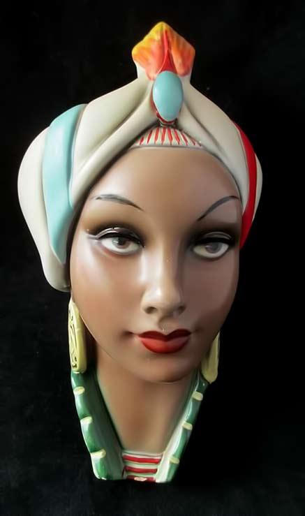 Chalk-Ware-Sarem-Italy-Lenci-Lady-1950s