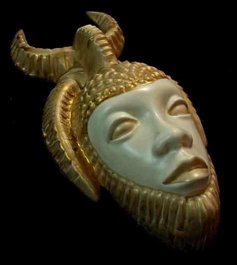 Sascha-B-Brastoff-Ceramic-Wall-Mask