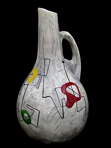 Ceramic water pitcher - WEG Pottery