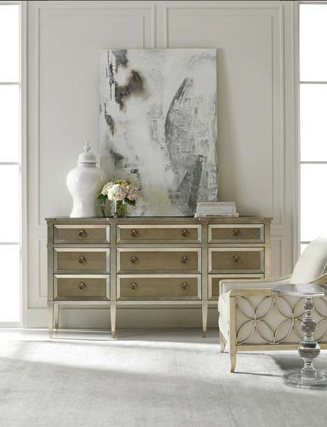 Caracole-armchair-and-side board