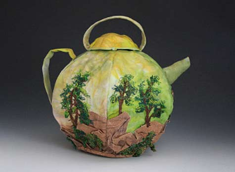 Eileen-Doughty---Momuntain-Tea---Machine-&-hand-stitched-cotton-fabrics,-thread-sculpture-trees