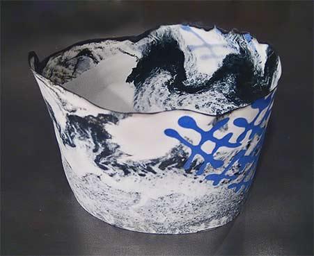 Henk Wolvers ceramic bowl -- Flow Gallery