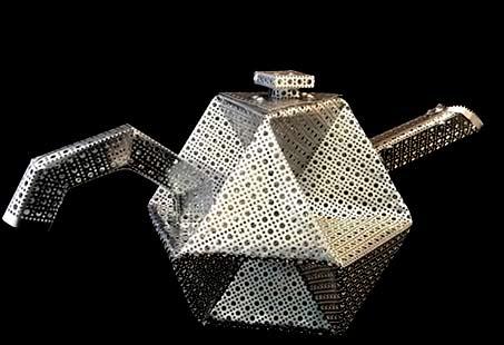 Ingrid Goldbloom Bloch_INV_ Octahemioctahedron Teapot