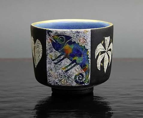 Ito-Hokuto tea bowl japanese